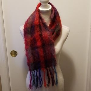 Vintage Molly Roberts Mohair Scarf!